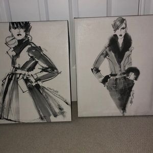 fashion canvases